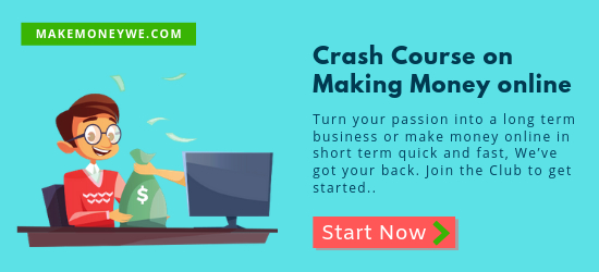 Crash Course on Making Money online