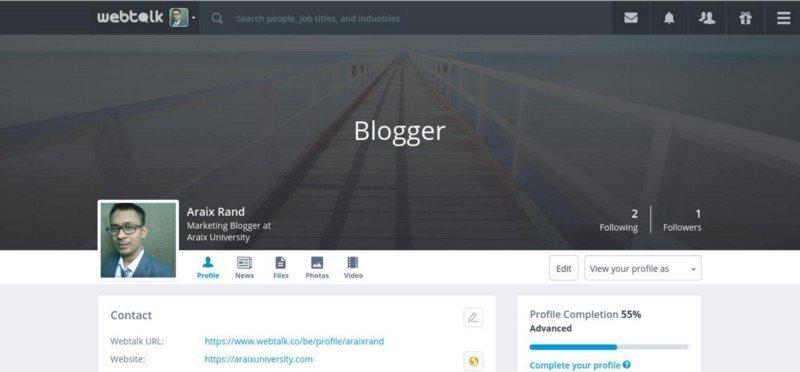 Webtalk is the best alternative to Linkedin and Facebook